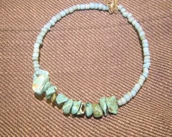 Hokte turquoise handmade bracelet