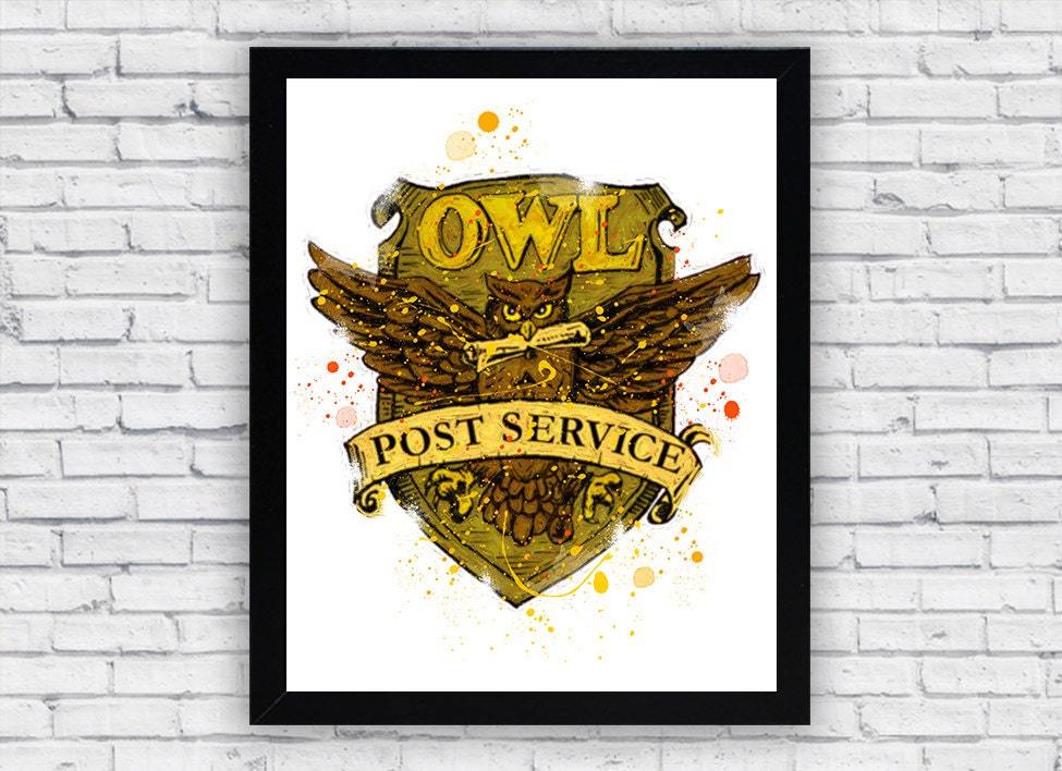 Owl Post DIY : Harry Potter Themed Packages or Gifts ...  Harry Potter Owl Service
