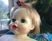 Vintage Baby Doll; Vintage Lifelike Baby Doll; Baby Doll with Blinking Eyes; 1970's Baby Doll; Lifelike Doll; Collector's Doll; Vintage Toys
