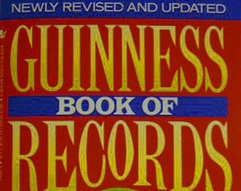 "Guinness Book of World Records ""The Giant 1992 Edition Newly Revised and Updated"""
