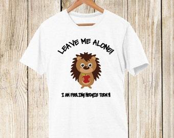 Hedgehog T shirt-Feeling Hedgie