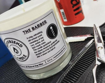 The Barber - Boyfriend Candle