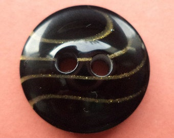 10 buttons black 18mm (1353) button