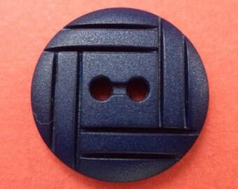 12 buttons dark blue 15mm (2088) button