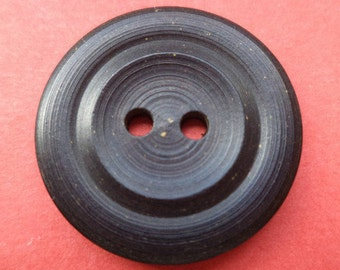 10 black buttons 22mm (148) knob black