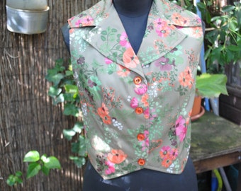 Jacket with flower 1950