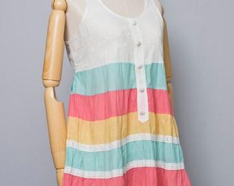 Comfy Cotton Dress / Jumpsuit 70s style Summer Collection