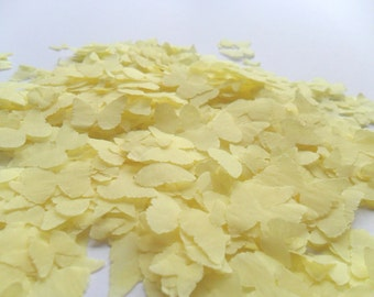 Yellow Butterfly Biodegradable Tissue Paper Confetti Wedding Baby Shower