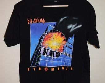 Vintage Def Leppard Pyromania T-Shirt