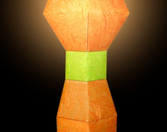 Furnishing Trophy lamp-Orange/Green