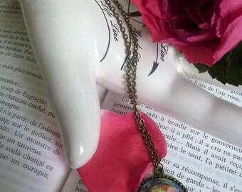 """Necklace """"Medallion"""" belle époque"""