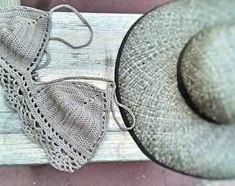 triangle crochet Boho Top