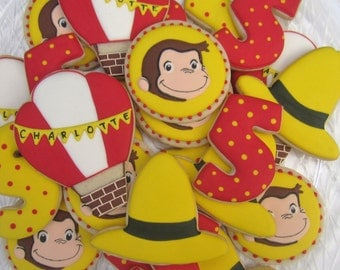 Curious George Cookies