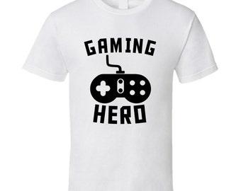 Gaming Hero Video Games Controller Gamer T-shirt