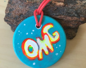 Candy Pendant: OMG/YIS