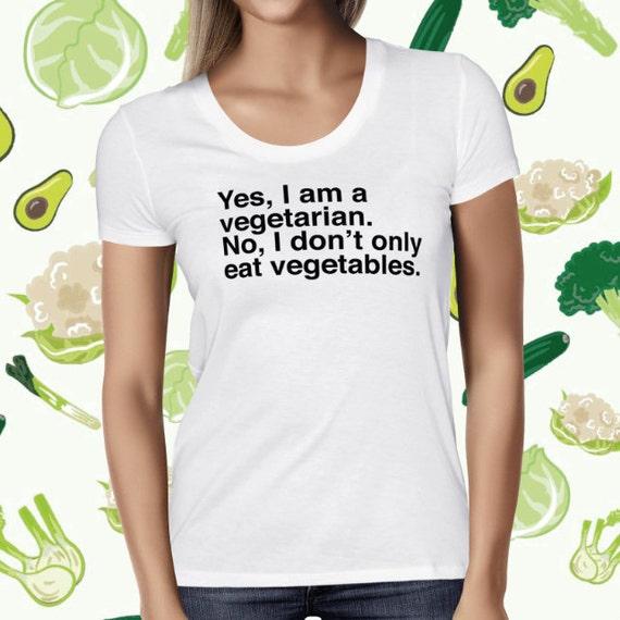 Vegetarian Statement Women's T-shirt - Plant-based Shirt - Animal Lover Shirt - Cruelty-free Tee Shirt - Vegetarian Tee - Go Vegan Tshirt