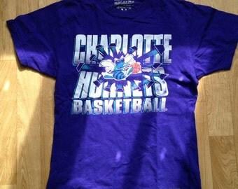 T-Shirt Charlotte Hornets Violet M