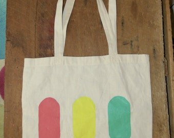 Lollipops! Cotton Tote Shopping Bag