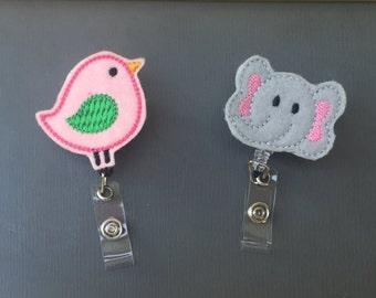 Ellie the Elephant Badge Reel