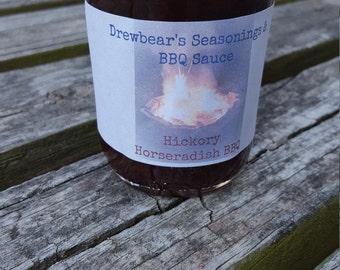 Drewbear's BBQ Sauce - Hickory Horseradish