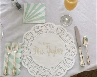 Place Card Placemats