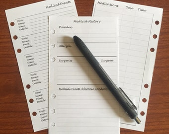 PERS.MHv1. Printed-Medical Inserts