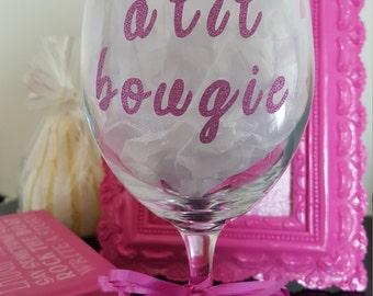 A lil' Bougie Wine Glass