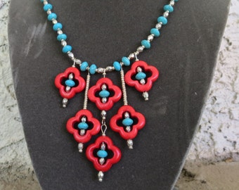 India Flower Necklace