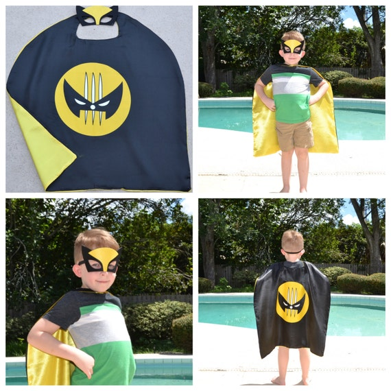 Wolverine Cape and Mask
