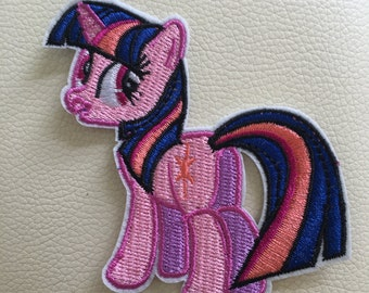 MY LITTLE PONY twilight sparkle sew/iron on embroidered patch