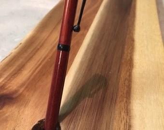 Handmade Wooden Slimline Twist Pen