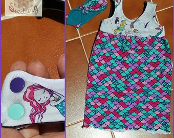 Custom Toddler / Girl's Maxi Summer Dress