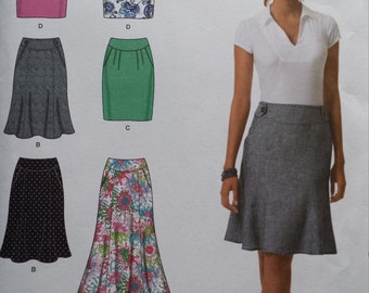 Simplicity 2451 Skirt Sewing Pattern 12-20