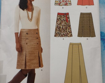 New Look 6079 Skirt Sewing Pattern 8-18