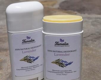 Organic deodorant stick