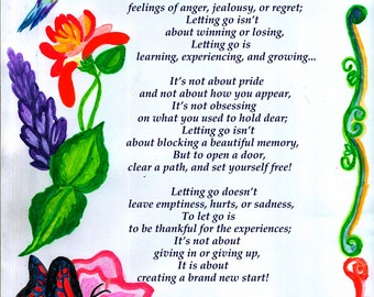The Art of Letting Go Poetry