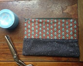 Handmade Purse, Vintage & Upcycled Fabric