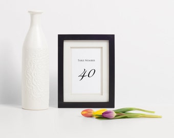 Calligraphy Table Numbers, Wedding Table Numbers, Table Numbers For Wedding, Script Table Numbers, Printable Table Number, Unique Table Card