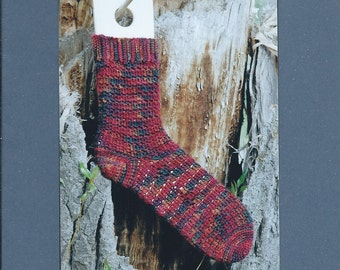 Easy Crocheted Socks from Mountain Colors
