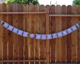 Under The Sea, Mermaid Birthday Banner