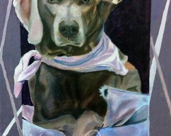 pet portrait, original artwork, oil on canvas, oil painting