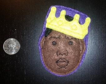 Felt Notorious B.I.G. Pin