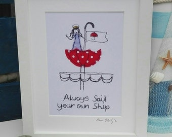 Sail your own ship
