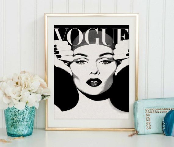 Vogue magazine vogue decor vogue coverfashion - Magazine wall decor ...