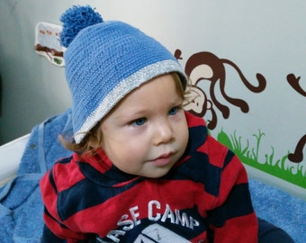 Baby Beret and Hats with Pom Pom Crochet for all ages / all colors (Custom Handmade)