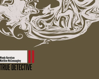 True Detective - Season One - Art Print