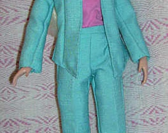 Turquoise suit for Tonner dolls