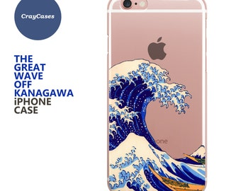 Kanagawa iPhone Case, Kanagawa iPhone 6s Case Kanagawa iPhone 6s Plus Case Kanagawa iPhone 7 Case (Shipped From UK)