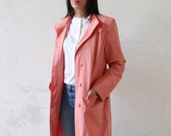Plaid fringe wool coat 90s oversized coat boohoo coat