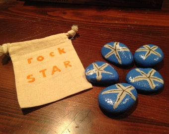 star fish painted rocks